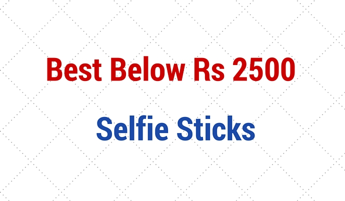 best selfie stick to buy below rs 2500 in india with android ios connect. Black Bedroom Furniture Sets. Home Design Ideas