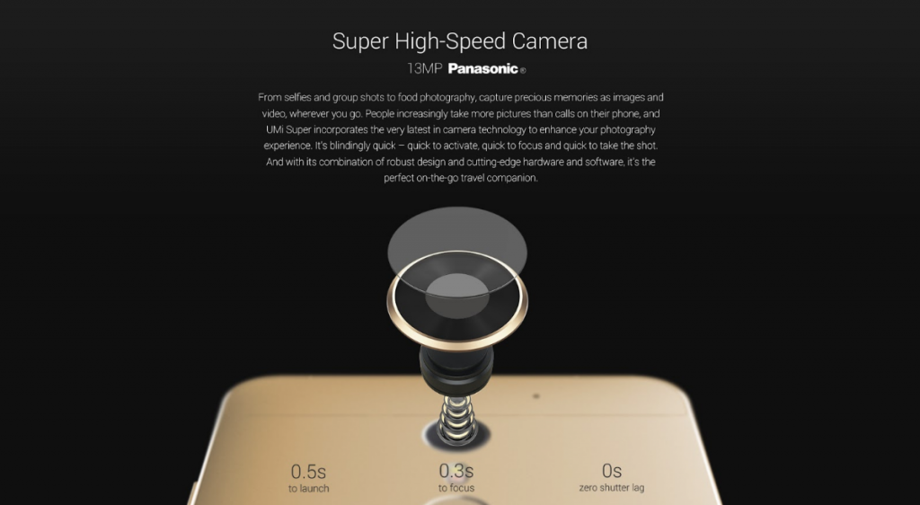 UMI Super High Speed Camera