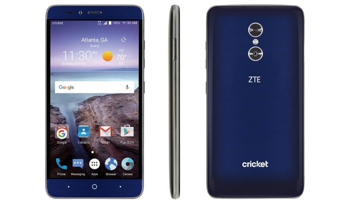 payment had zte grand x max 2 battery life March 2017
