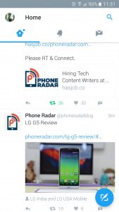 Twitter Android App - Version 6.0.0 Beta 2
