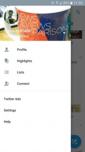 Twitter Android App - Version 6.0.0 Beta 3
