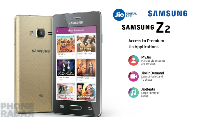 Samsung Z2 With 4G VoLTE Amp Jio Preview Offer Launched In
