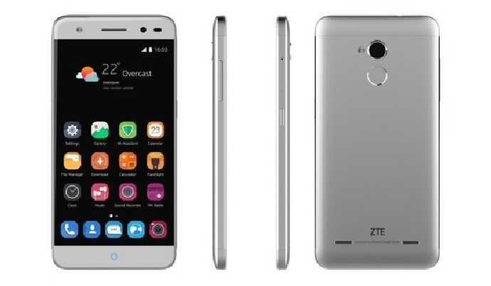 zte arrives blade v6 plus smartphone with fingerprint. Black Bedroom Furniture Sets. Home Design Ideas