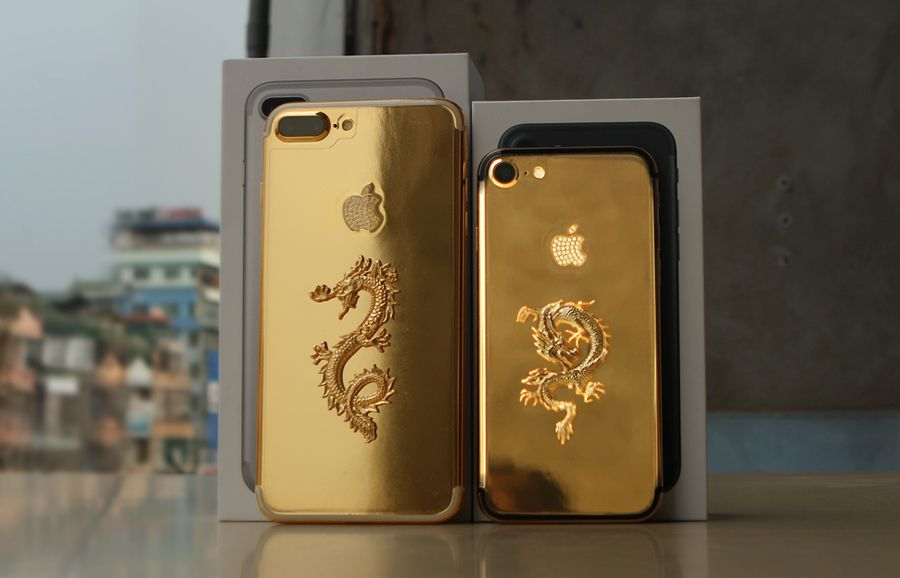 Gold Plated Iphone 7 3