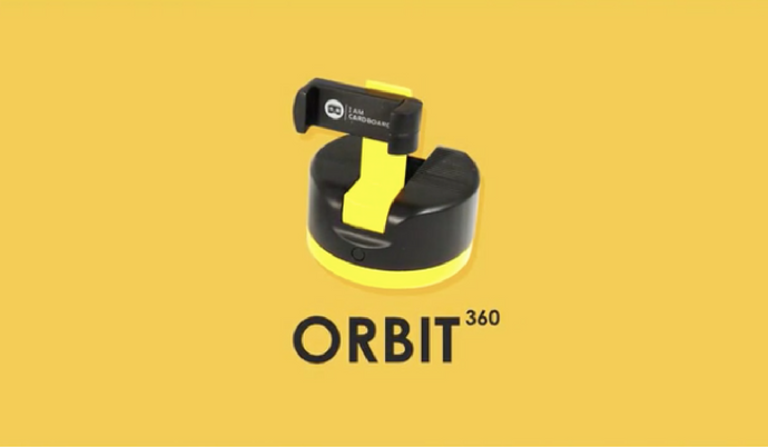 Pocket VR, Flip 360 Phone Case & Orbit 360° Base helps you Capture Spherical Panoramas