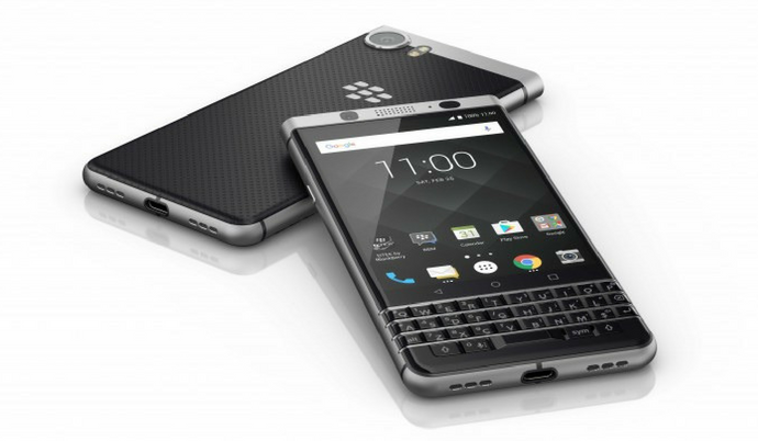 blackberry keyone qwerty smartphone with android 7 1