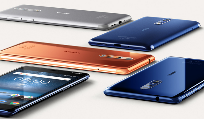 Nokia 5 and Nokia 8 receive significant price cut in India