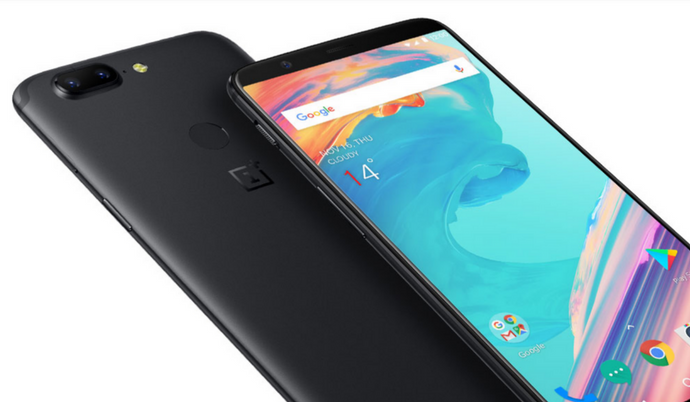 OnePlus 5T flagship phone gets a New Look