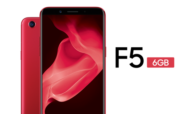 Oppo F5 featuring 6 GB RAM now available for ₹24990