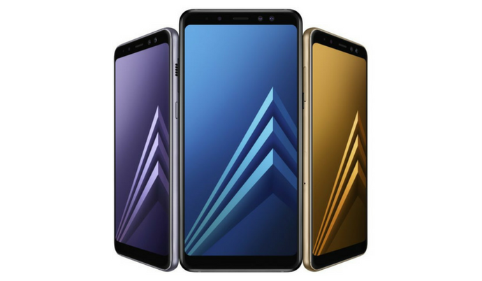 Galaxy A8 (2018), A8+ (2018) are now official