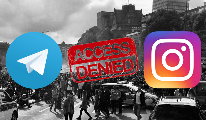 Iran blocks Instagram, Telegram as protests rage on