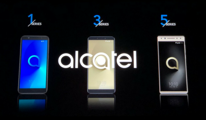Alcatel Revamps Its Smartphones with Supersized Screens