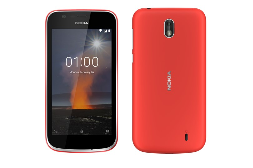 Nokia 1 Android Oreo (Go Edition) launched in India for Rs. 5499