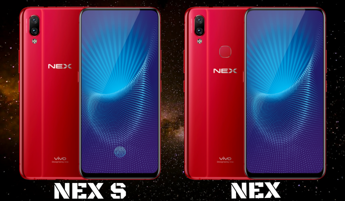 Nearly  bezelless Vivo NEX comes with pop-up camera