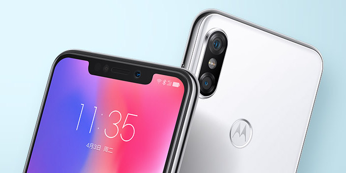 IPhone X-like Motorola P30 gets official in China, and it's cheap