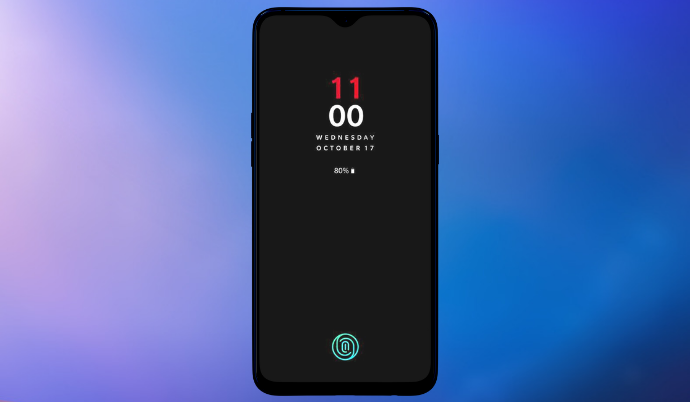 OnePlus 6T In-display Fingerprint Sensor Confirmed