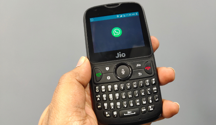 how to open downloaded files in jio phone