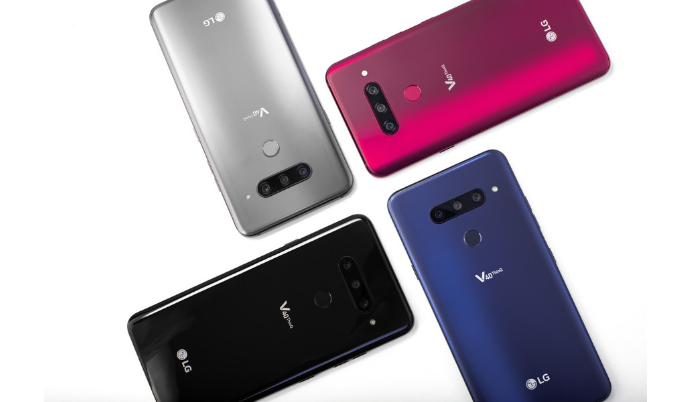 LG V40 ThinQ Has 5 Cameras!
