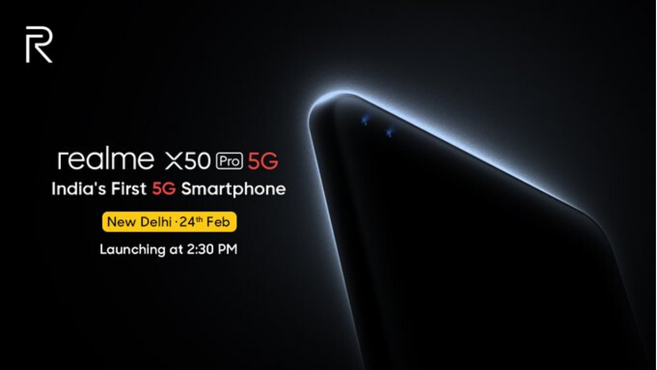 Realme X50 Pro 5G India Launch Confirmed for February 24