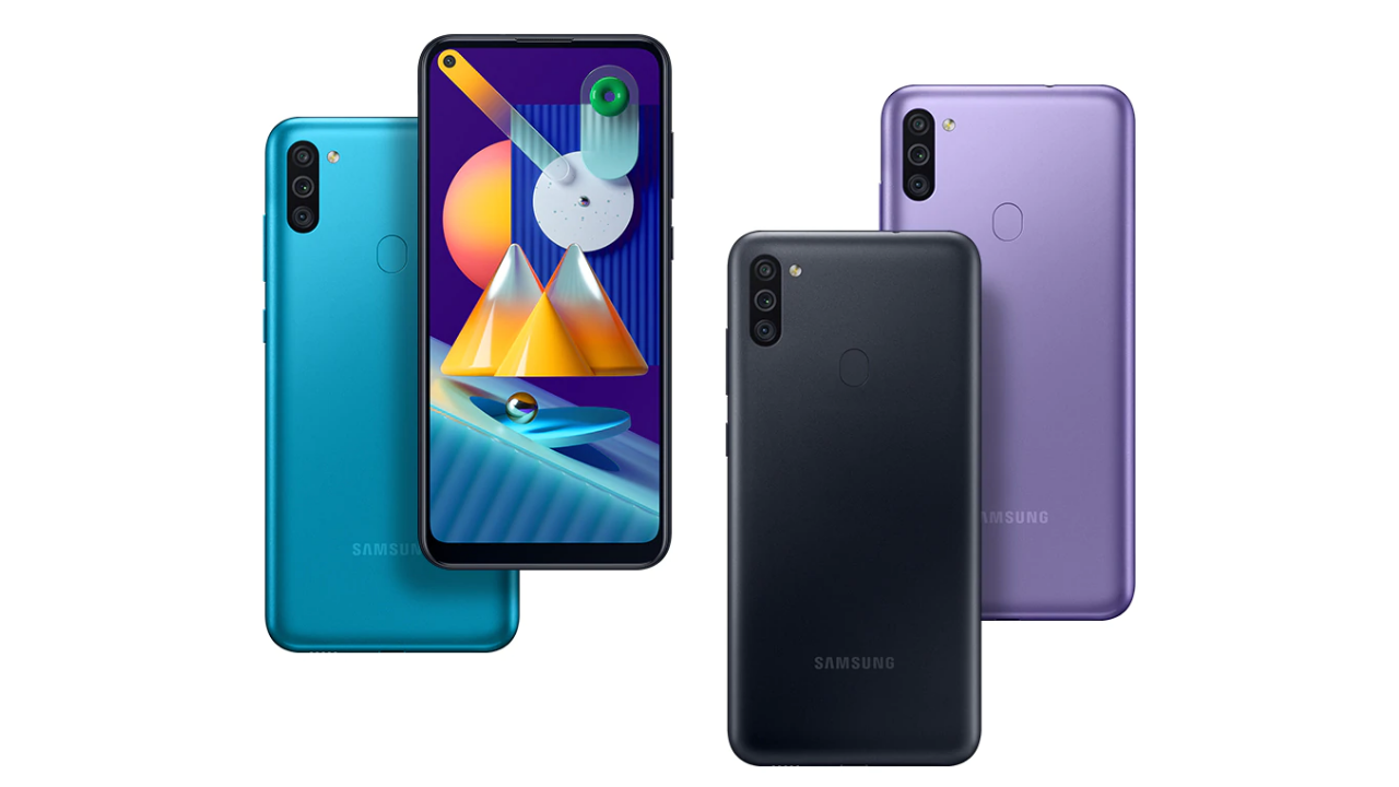Samsung Galaxy M11 with Punch-hole Display, Triple Cameras Launched
